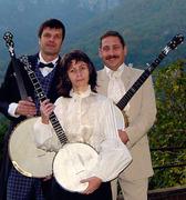 Trio de banjos