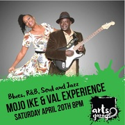 The Mojo Ike and Val Woods Experience at Arts Garage April 20