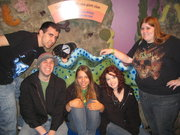 At the aquarium. Bonding with Pagans I found on this site
