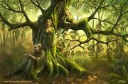 Maiden, Mother, and Crone Tree