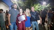 This is from last year my baby graduated - My kids & I - I have big boys lol