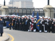 Sailors getting ready to march