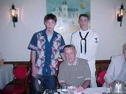 Grandad & twins