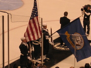 Color Guard at the Hockey Game