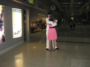 Todd & Courtney at airport