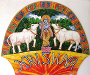 Krishna_with_two_Cows