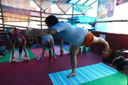 top yoga teachers hatha dharamshala India alpesh