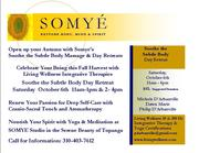0 SOMYE INTEGRATIVE YOGA PROMO CARD 092012