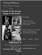 0 LWF SOUNDS OF THE SACRED FROGGY'S POSTER MAY 2nd, 2015 FINALjpg  4-16-15