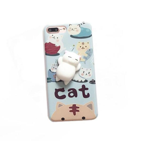 Get The Best Squishy Stress Relief Chubby Cat Phone Case at Crazy Cat Shop