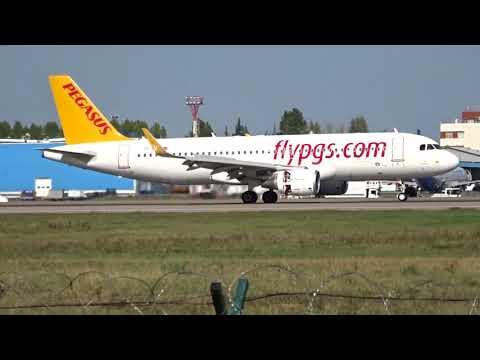Airbus A320-214SL, TC-DCL, Pegasus, Domodedovo Airport (UUDD)