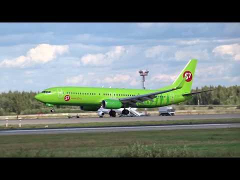Boeing 737-8LP, VP-BUL, S-7, 22.08.2018
