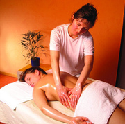 Ayurveda Rücken-Massage