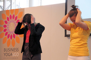 Business Yoga 2Go auf der Hannover Messe 2015