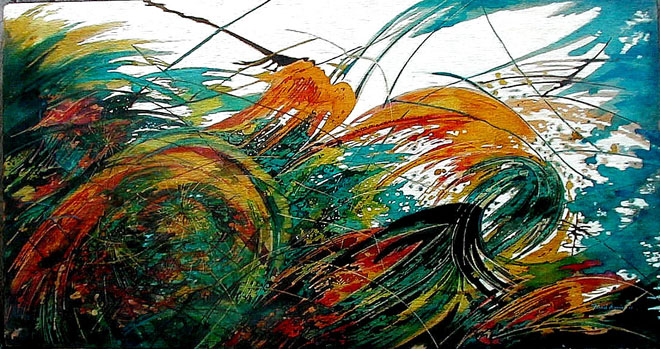 Windswept # 3 - Forces of Nature series