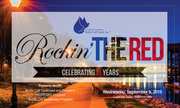 Sept. 9 - Get Ready for Rockin' the Red - 10th Annual Fundraiser!