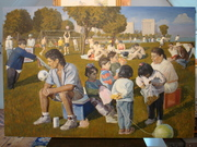 Park painting...