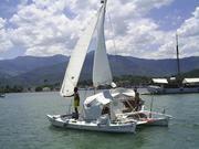 Polinesio sailing on bay version