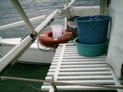 Polinesio's aft deck