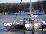 Snow on the Chesapeake