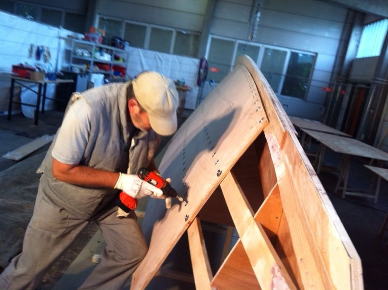 Tiki 46 Panel mounting
