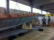 Tiki 46 Hull Turning
