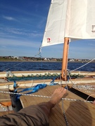 First real sail on my hitia 17