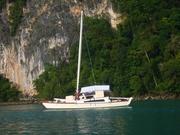 At anchor, Langkawi, Malaysia