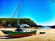 Hinemoa, middle Percy lagoon