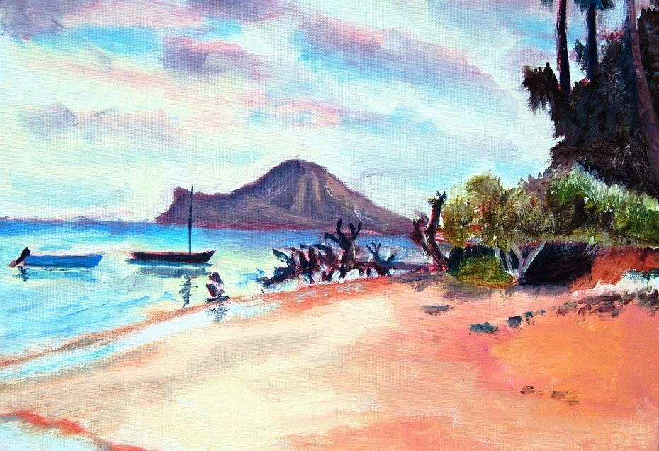 Rabbit Island from Lanikai
