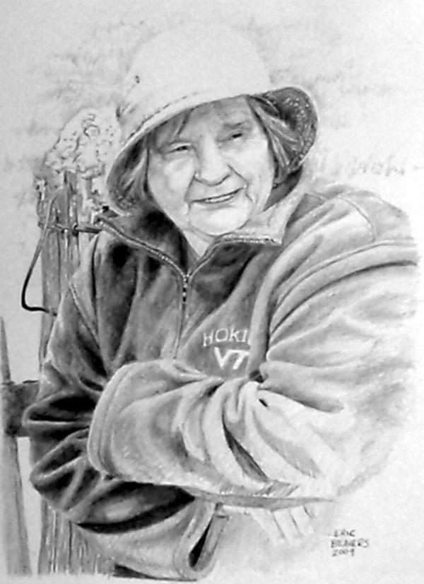 woman from burkes garden