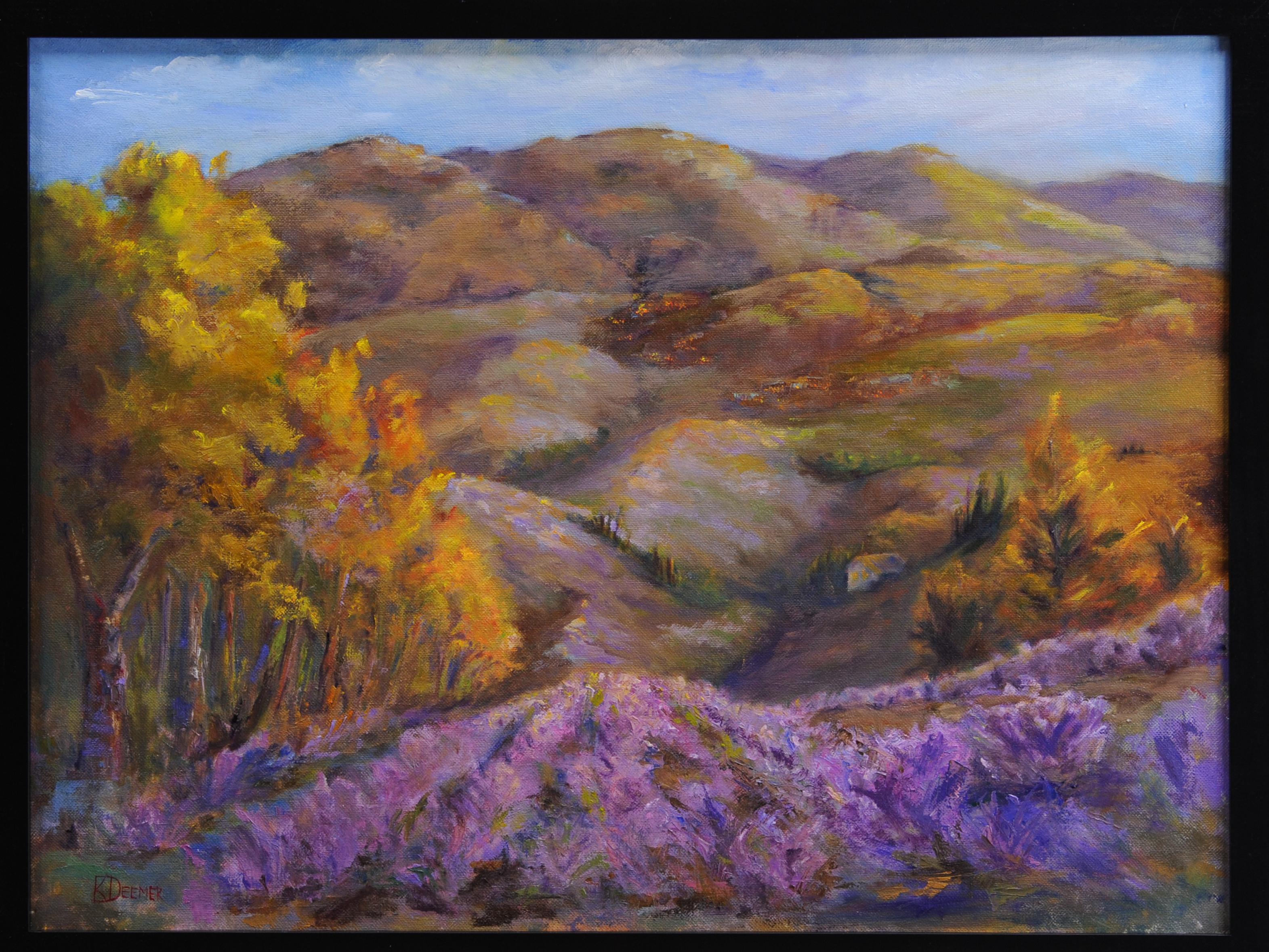 111024-LScape   Lavender Sunset