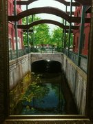 Arcadia Creek - Kalamazoo Michigan by Ken Blaze