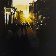 Long acre sunset
