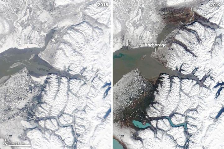NASA: Alaska Hit With a Hot March