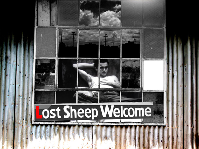 A Lost Sheep Copy