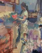 Derya in her kitchen in Istanbul