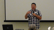 "M.I.S.S. 2013 Awareness Conference, Guest speaker Tim Niesler prison minister from ""The Rock Church"" in San Diego"