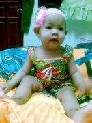 ลูกสาวแม่ใส่  ชุดไทย^^
