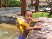 Swimming at Hotel Vista Pattaya