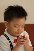 thank to be my son