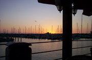 At the marina side