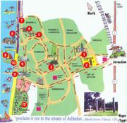 Ashkelon Map