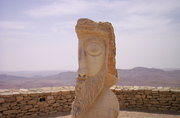 A statue in Mitzpa Ramon