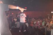 Nvus Lil homie on stage