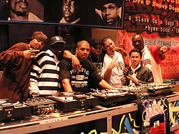 1st time on rap city with the core djs fam and paul wall