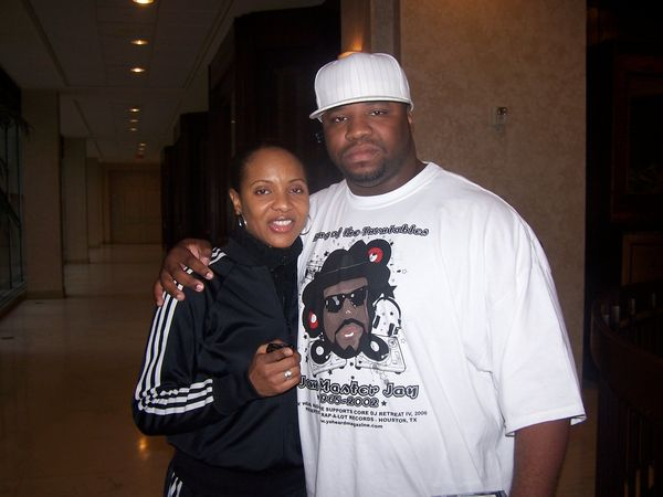 MC lyte and DJ Quest