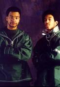 Hot 97.5 Dj Nabs and Chris Luva 1996