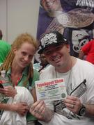 MICHELLE & PAUL WALL @ OZONE08 free agent pic