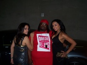 Me & Titan Cheerleaders at Kayne West After Party Wildhorse Saloon Nashville TN. 07""
